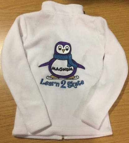 Magnum white Skate UK Fleece